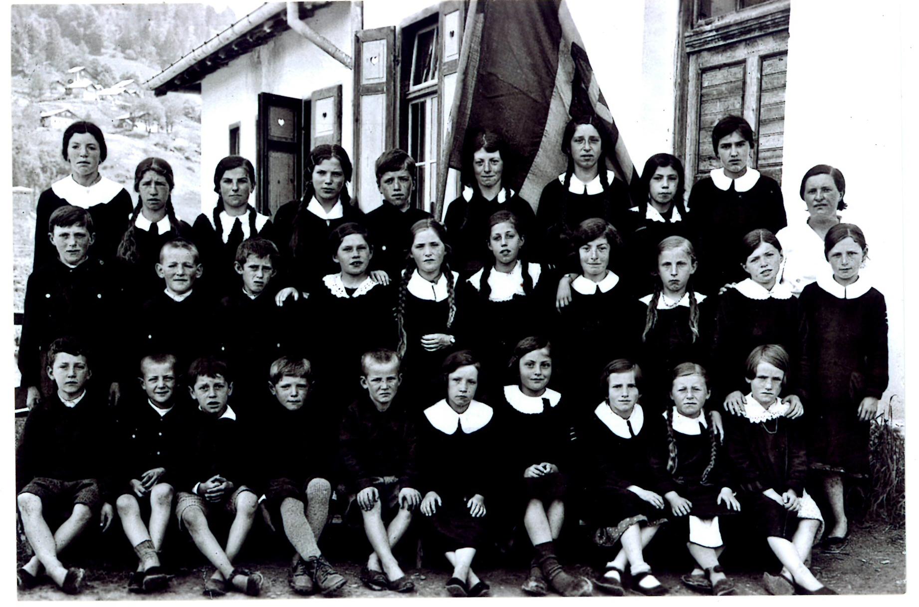 scuola mis anni 30